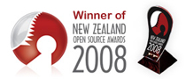 """Winner in the category """"Open Source Use in Education"""""""